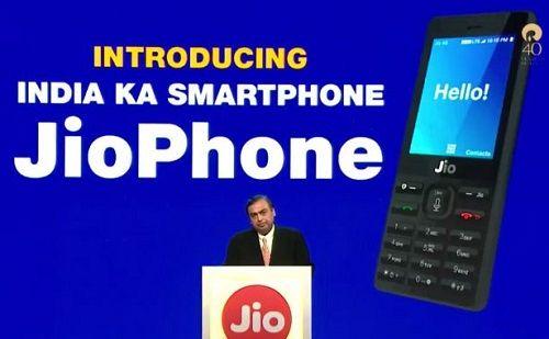 JioPhone India Ka Smartphone