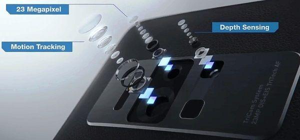 tricam system on Asus Zenfone AR