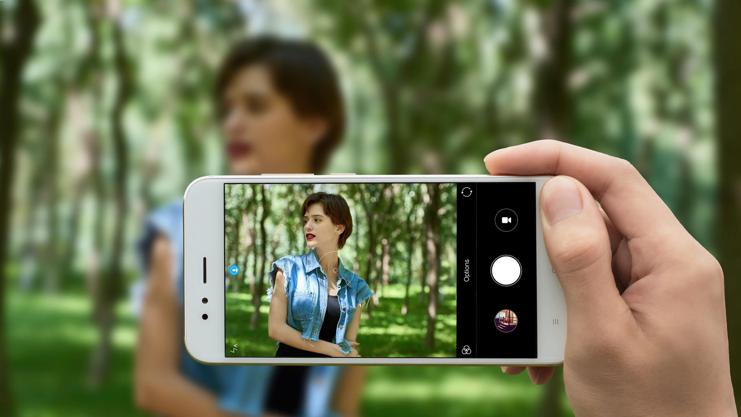 Xiaomi Mi A1 camera shot view