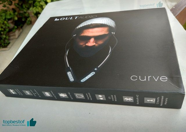 Boult Audio Curve Neckband Wireless Bluetooth box