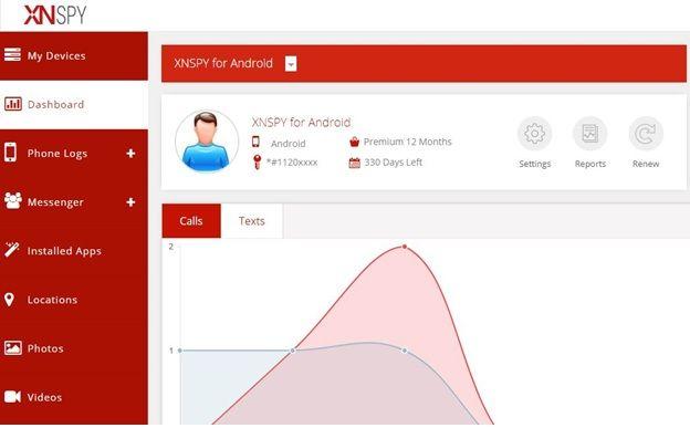 xnspy app review- Web Account -topbestof