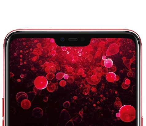 Oppo F7 notch style display 1