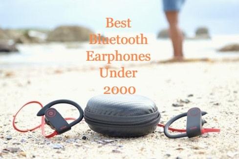 10 Best Bluetooth Earphones Under 2000 In India September 4 2020