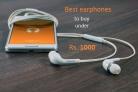 Top 10 Best Earphones under 1000 Rs in India- May 2018
